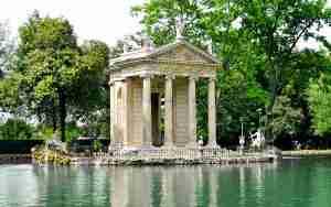 Visita ai giardini di Villa Borghese