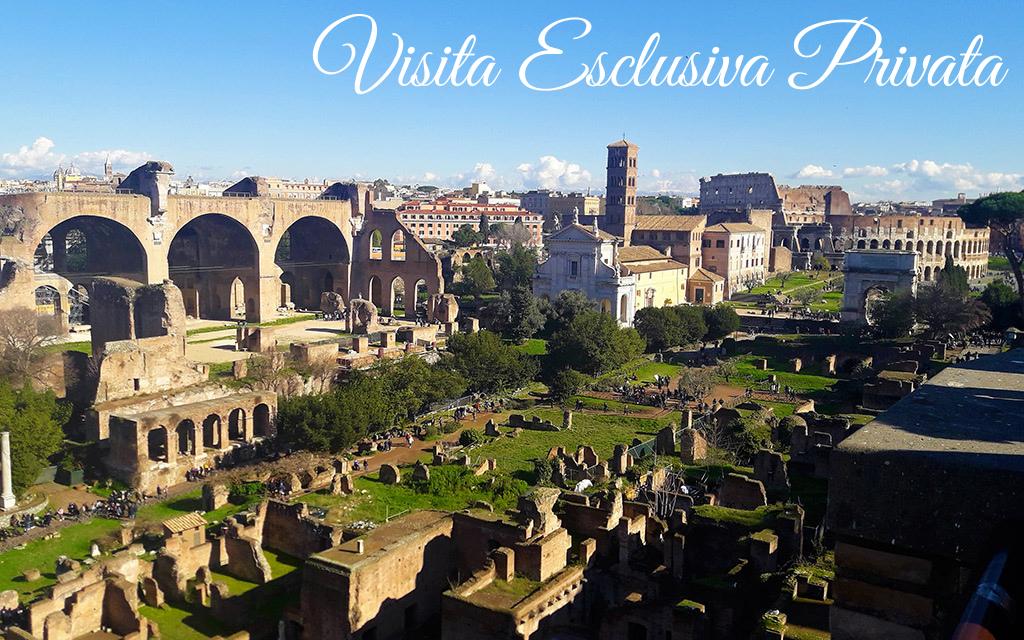 Visita guidata al Colosseo, Foro Romano e Palatino