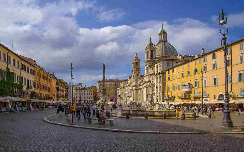 Visita guidata a Piazza Navona