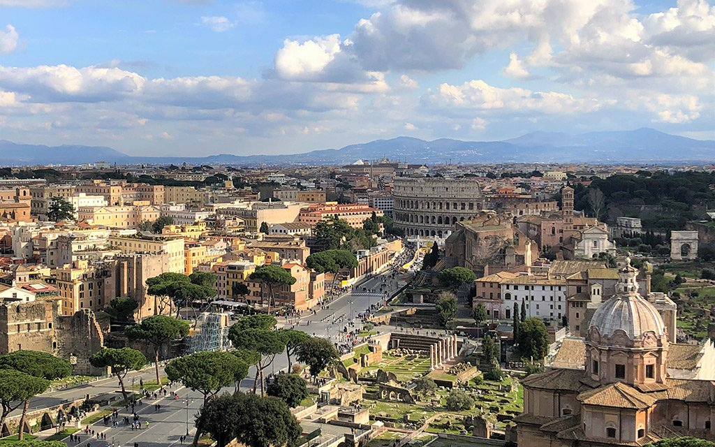 All Rome Sites with Car and Private Driver