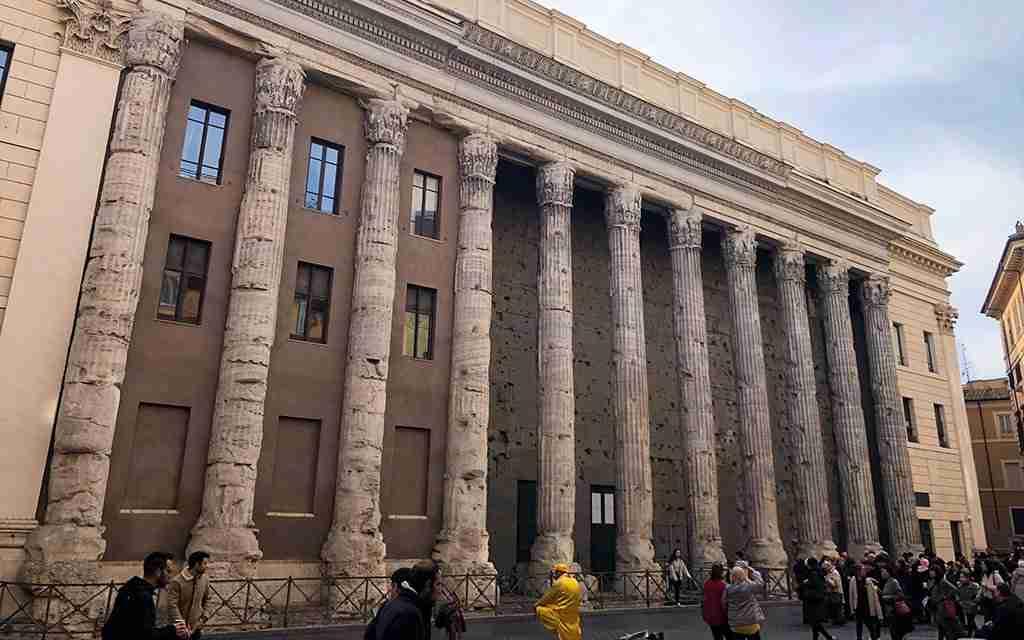 Visita guidata Tempio di Adriano