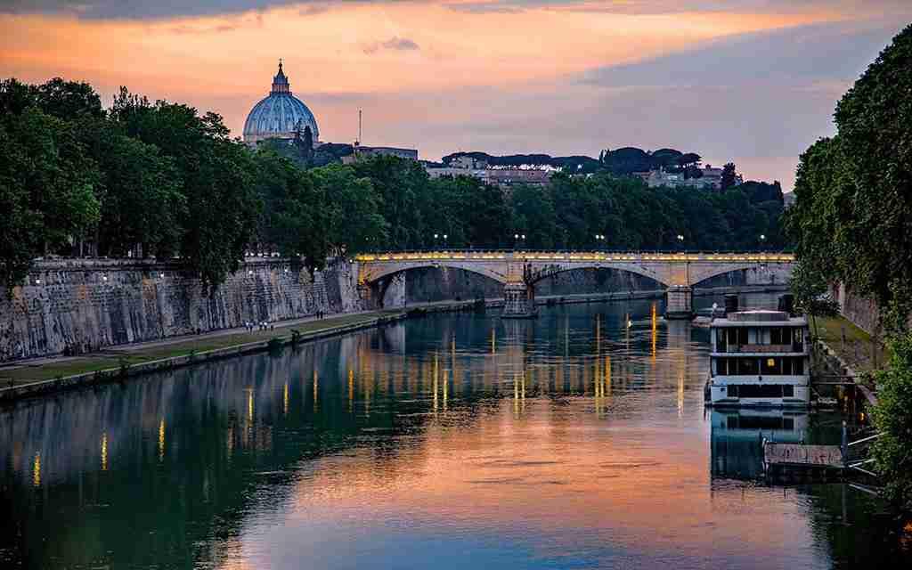 Visita guidata Tevere Roma