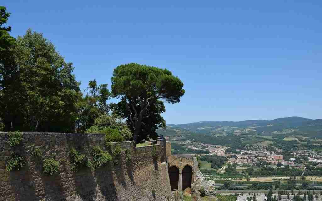Paesaggio campagna Orvieto