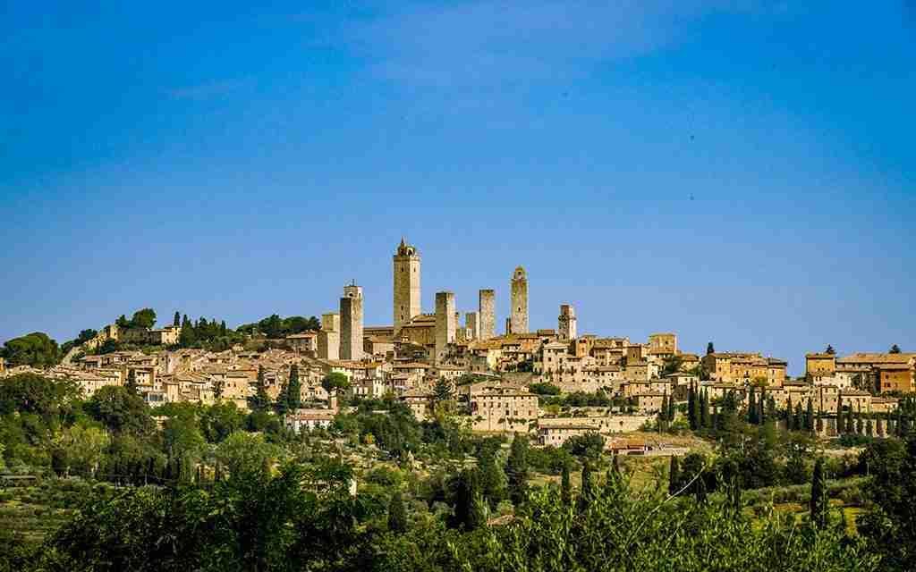 Visita guidata a Siena e San Gimignano con degustazione vini