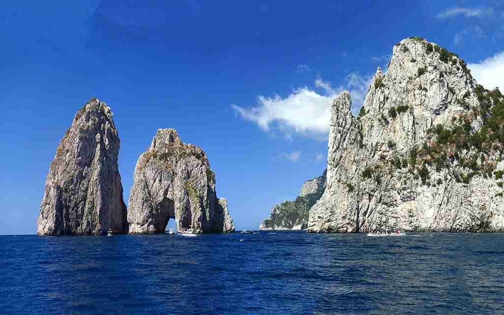 Visita guidata Faraglioni di Capri