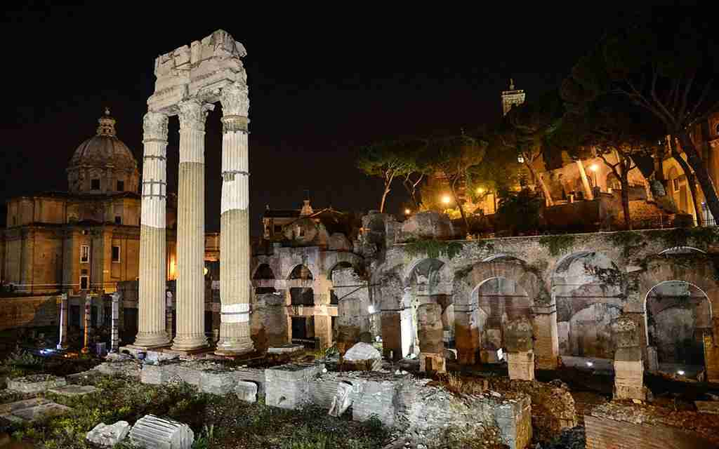 Fori Imperiali guided visit