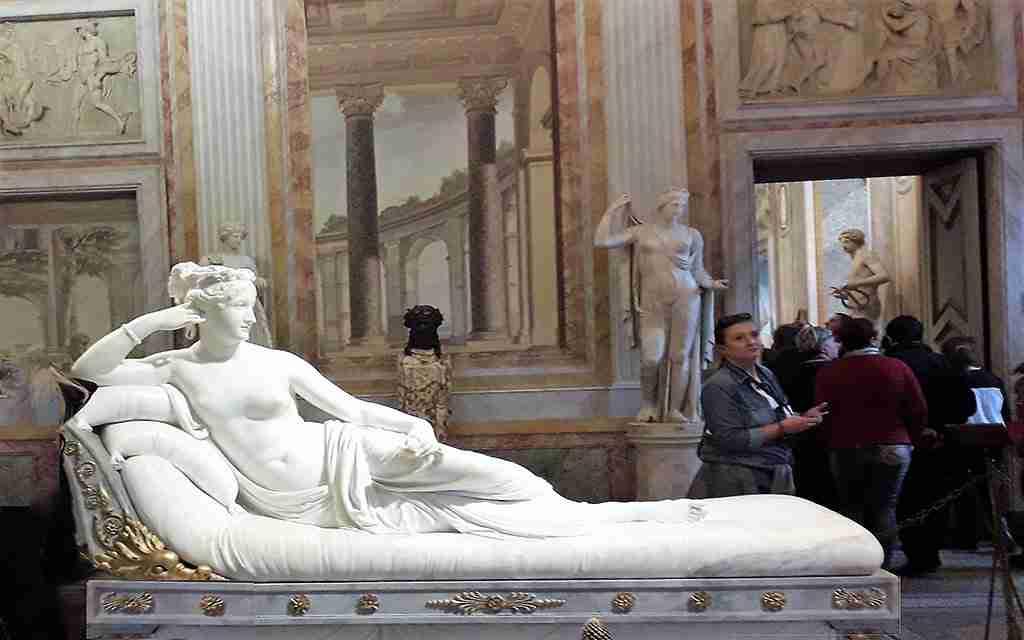 Paolina Borghese - Canova