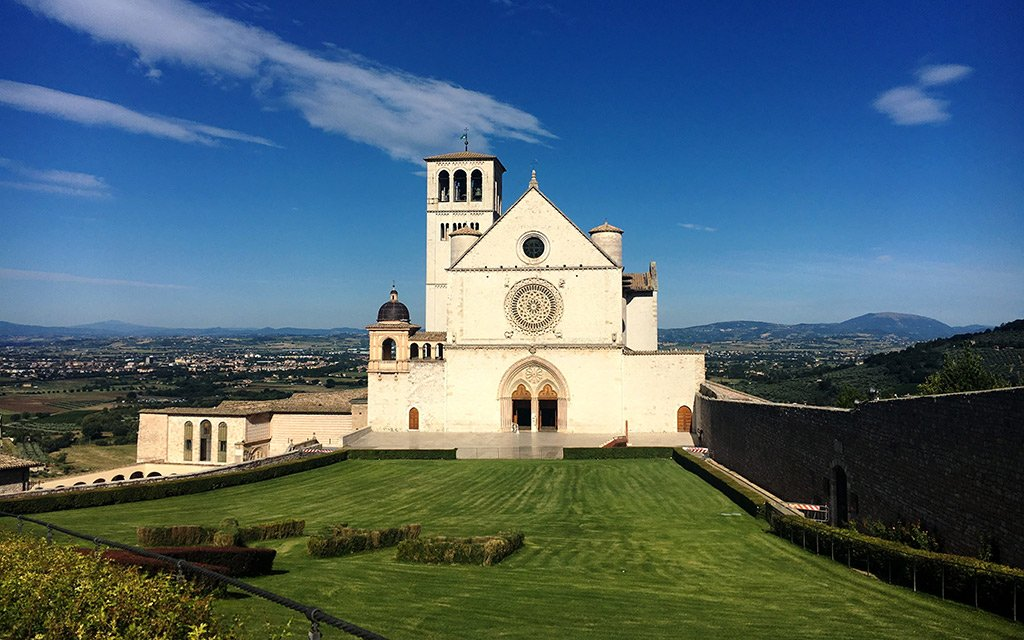 Guided visits to Assisi from Rome