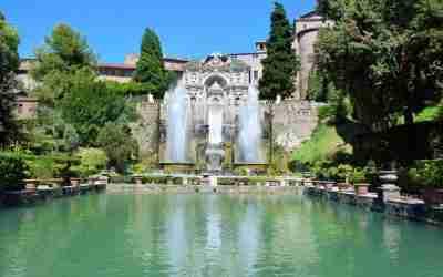 Tivoli Gardens: Villa D'Este & Hadrian Villa from Rome